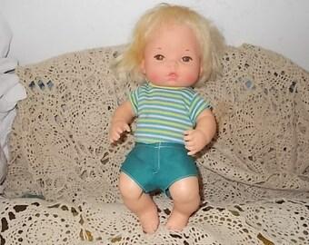 Baby Tender Loves Baby Brother 1972 ,Tender Love Doll, Tender Love Boy Doll, Boy Doll, Vintage Boy Doll, Vintage Doll, Vintage Toys  :)s