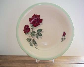 Vintage China Bowl - 1950's Rose Bowl