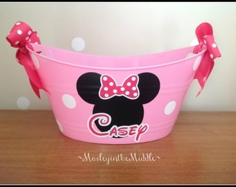 Minnie or Mickey Mouse - Disney Handy 12 inch Oval Tub
