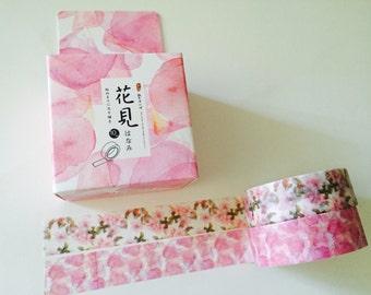 Pretty In Pink Sakura Boxed Washi Tape 2 Pack
