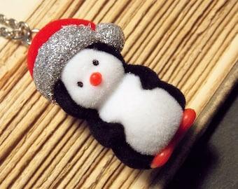 Kawaii Penguin Necklace