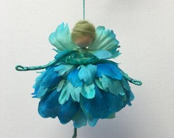 Flower Fairy Doll, Waldorf Style