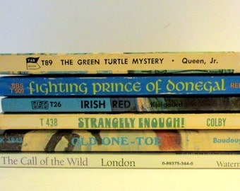 Bundle of Six Adventure Paperback Books