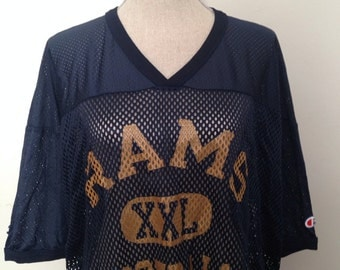 Vintage Los Angeles Rams XXL Practice Football Jersey