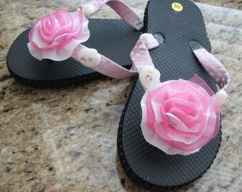 Coastal Couture Kid's Flip Flops