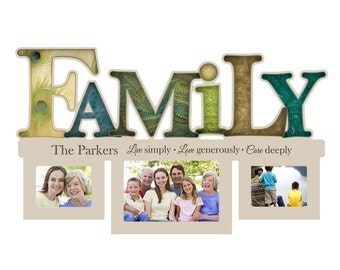 Personalized Family Photo Collage Frame