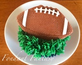 Football Cupcake Topper
