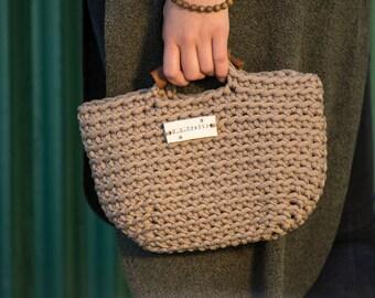 Crochet clutch purse,Rope clutch,Handmade purse,Crochet bag, Knit Purse,Crochet Pouch