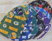 Reversible Rivals Baby Bibs Choose your Teams  NFL Football For House Divided