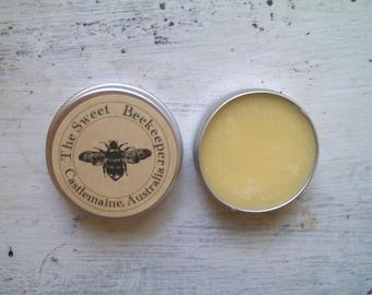 FREE SHIPPING Shea Lip Butter with honey, Australian mandarin and warm vanilla