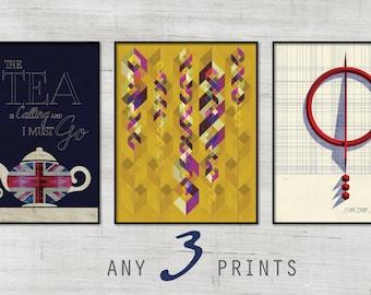 Any 3 Art Prints
