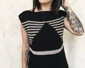 Nolan Top Crochet Pattern // Garment // Intermediate