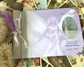 Child's Celebration of life memory book