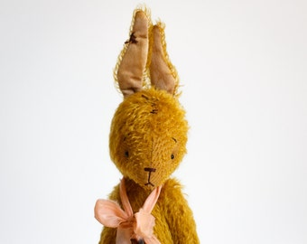 Made to order Gold Bunny Boris Stuffed Animal Rabbit Soft Toy