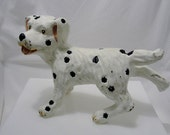 Cast Iron Dog Decor -Doorstop - Outdoor Garden - Collector
