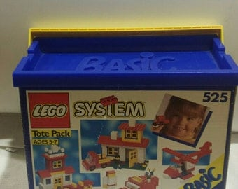 Lego System Basic Set No 525 From 1992