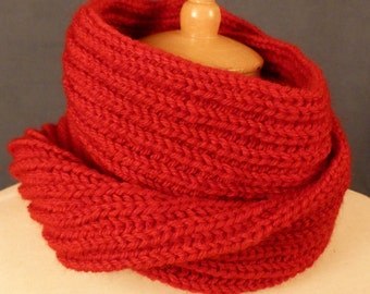 Chunky knit Neckwarmer, Chunky knit Cowl,  Chunky Scarf, knit snood - ready to ship