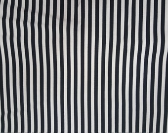 Prisms by Hoffman Fabrics - Black and White Stripe