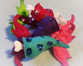 Mermaid Sushi Brooch