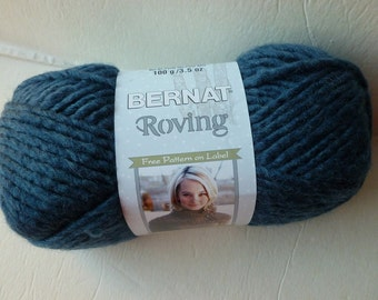 Yarn Sale  - Cobalt Roving  by Bernat