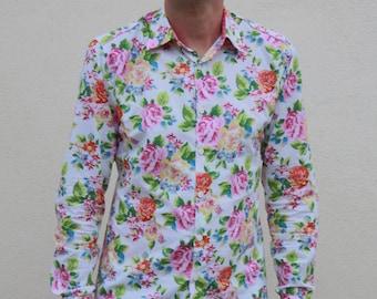 Men's Dress Shirts | Etsy