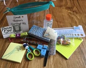Small Knitter's Survival Kit
