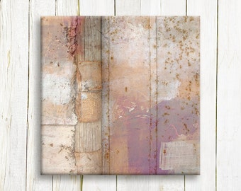 Abstract canvas art - mixed media art printed on canvas - home decor - wedding gift idea
