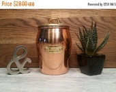 SALE - Copper Garlic Keeper