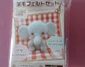 Needle Felt kit - Elephant