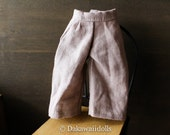 Blythe Doll Outfit /  1/6 doll size /  cropped pants/ fawn