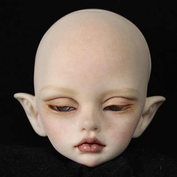 Custom faceup and body blushing for Popovy doll