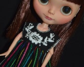 Mexican Embroidery Dress for Neo Blythe/Pullip doll
