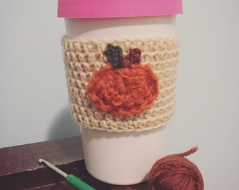 Pumpkin Travel Mug Cozie