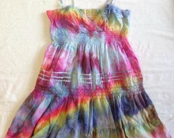 Funky Tie Dye Women's Dress W119