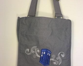 Doctor Who Tardis messenger bag rucksack