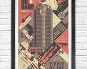 Die Hard - 1988 - 19x13 Poster