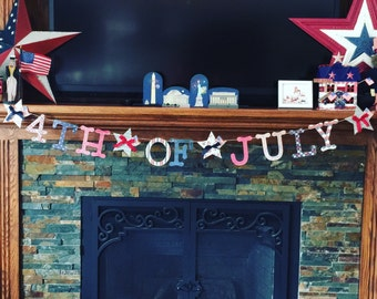 Patriotic banner, Fourth of July banner, Independence Day, Red white and blue banner, 4th of July, 4th of July banner, fre