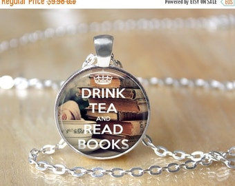 Book Necklace - Book Lover Necklace - Literary Jewelry - Library Necklace - Bibliophile Necklace 153