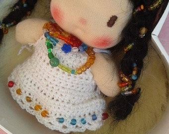 Lilla the Waldorf spring fairy.