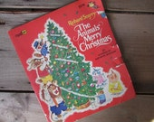 The Animals' Merry Christmas Vintage Richard Scarry