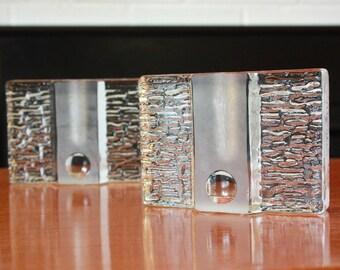 Mid Century Stem Vase Walther Glas Solifleur Stem Vase by Heiner Dusterhaus