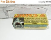 On Sale Price Jaws 2 Hard Glasses Case. READY to SHIP. Geeky Cool for Movie Nerds. You Are Gonna Need Bigger Glasses. Shark Cage Sold Separa