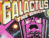 On Sale Price Galactus Comic Book. Volume 1. Number1. May 1983. Cool Villains That Wear Purple. Geekery. Marvel Comics Group. Super-Villain