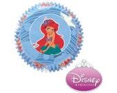 50 Disney Little Mermaid Cupcake Liners/Cups