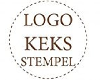 dueTORI cookie stamp - with your own LOGO