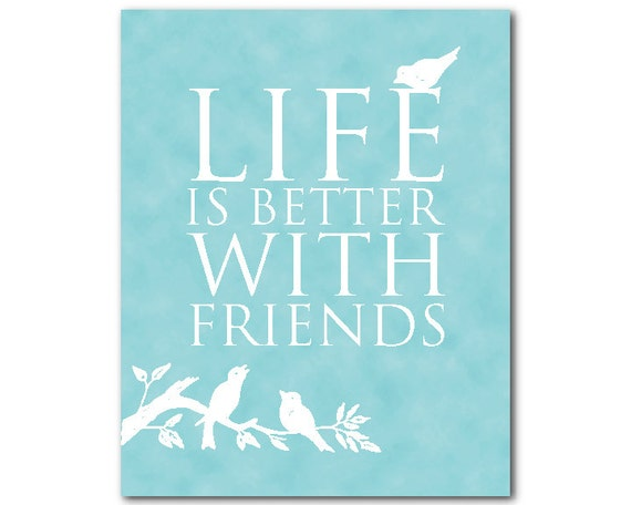 Image result for life is better with friends birds