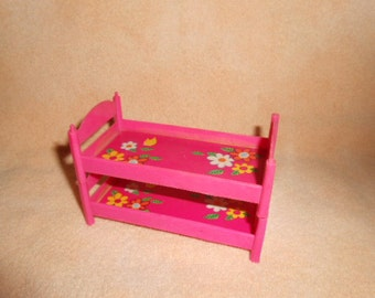 """Two Pink Doll Beds-4 """" Long"""