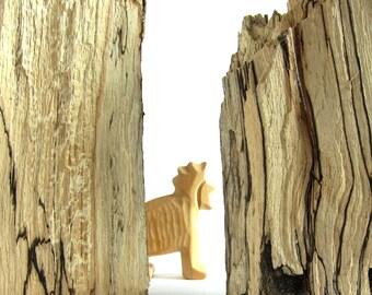 Primitive Art, Woodcarving, Carved Lion, Wooden Lion, Wooden sculpture, Wood Art, Naive Art, Carved Animals