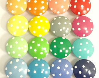 Polka Dot Drawer Knobs for your Little Nursery