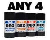 Any 4 Deodorant Your Choice Deoderant Stick Vegan Cruelty Free Natural Deodorant - Free Shipping